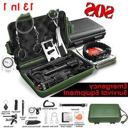 SOS Emergency Survival Equipment Supplies Kit Outdoor Tactic