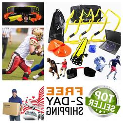 Speed Agility Training Kit soccer equipment Speed Set With C