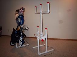SPORTS EQUIPMENT HOCKEY DRYING RACK TREE with FREE attachmen