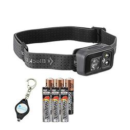 Black Diamond Spot Headlamp  Bundle with 3 Extra Energizer A
