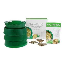 Handy Pantry Sprout Garden 3-tray Sprouter- SG.52 - BPA Free