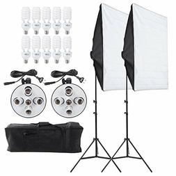 Andoer Studio Photography Lighting Kit Portrait  Light Video