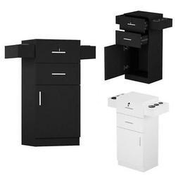 Styling Station Barber Cabinet Salon Station MDF Lockable Be