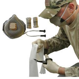 Tactical Protective Equipment Kit  - R95 Respirator / Nitril
