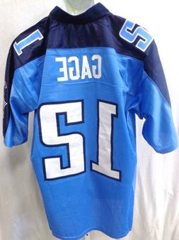 Tennessee Titans Justin Gage NFL Equipment Premier Football