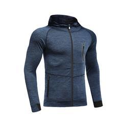 Tights Men's Running Coat Quick Drying Clothes <font><b>Long