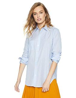 Equipment Women's Timeless Stripe Cotton Popplin Kenton Shir