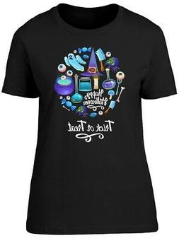 Trick Or Treat Blue Equipment Women's Tee -Image by Shutters