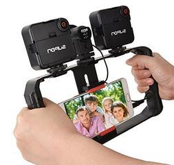SUPON U Rig ProSmartphone Video Rig, Phone Movies Mount Ha