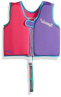 Speedo Kids UPF 50+ Begin to Swim Classic Swim Vest, Berry/G
