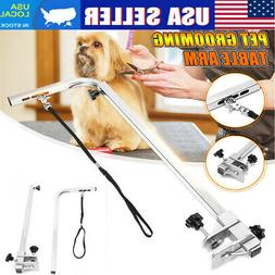 US ❤ Stainless Adjustable Pet Grooming Master Equipment Po