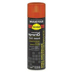 RUST-OLEUM V2156838 Spray Paint,Equipment Orange,15 oz.