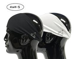 Value 2-Pack, Mens Headband - Guys Sweatband &Amp; Sports He