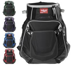 Rawlings Velo Baseball/Softball Backpack Bat Equipment Bag V
