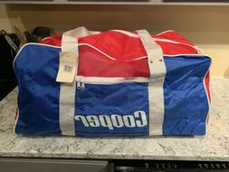Vintage Cooper Ice Hockey Duffel Bag Equipment New, Never Us