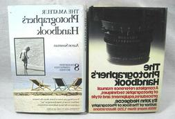 Vtg  35mm SLR Camera Photography Books HC Reference Techniqu