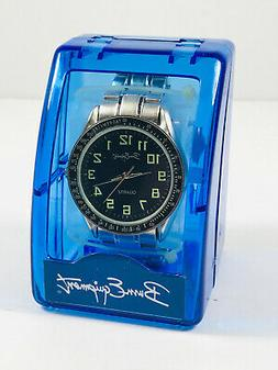 VTG nos B.U.M. Equipment Quartz Watch w/ GITD tachymetre