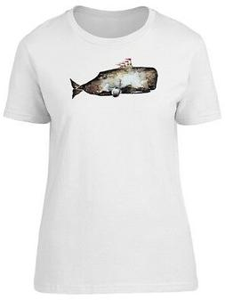 Whale With Submarine Equipment Women's Tee -Image by Shutter