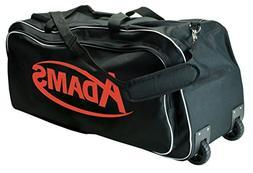 NEW Adams Wheeled Equipment Bag Sports Football Soccer Baseb