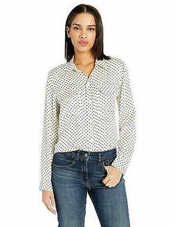 Equipment Women's Mini Star Slim Signature Shirt - Choose SZ
