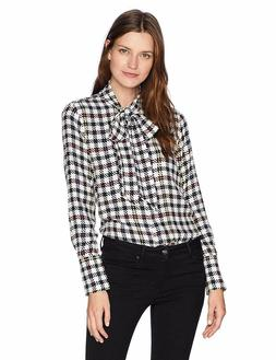Equipment Women's Scholar Plaid Reverse Satin Luis Blouse