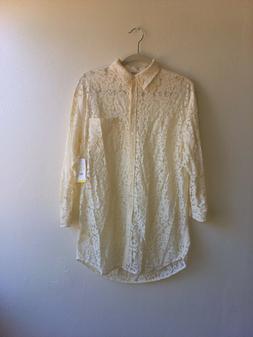 womens long sleeve button down shirt top