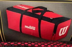 Wilson WTA9706 Red Team  Catcher's Equipment Bag Baseball /
