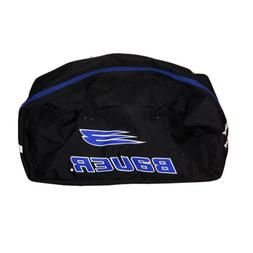 Bauer XL Ice Hockey Gear Bag Canvas 38x28 Zippered Black Blu