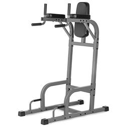 XMark Fitness XM-4437 Vertical Knee Raise with Dip Station