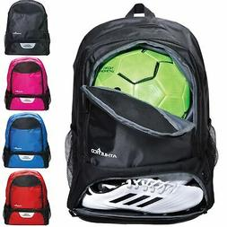 Athletico Youth Soccer Bag - Soccer Backpack & Bags for Bask